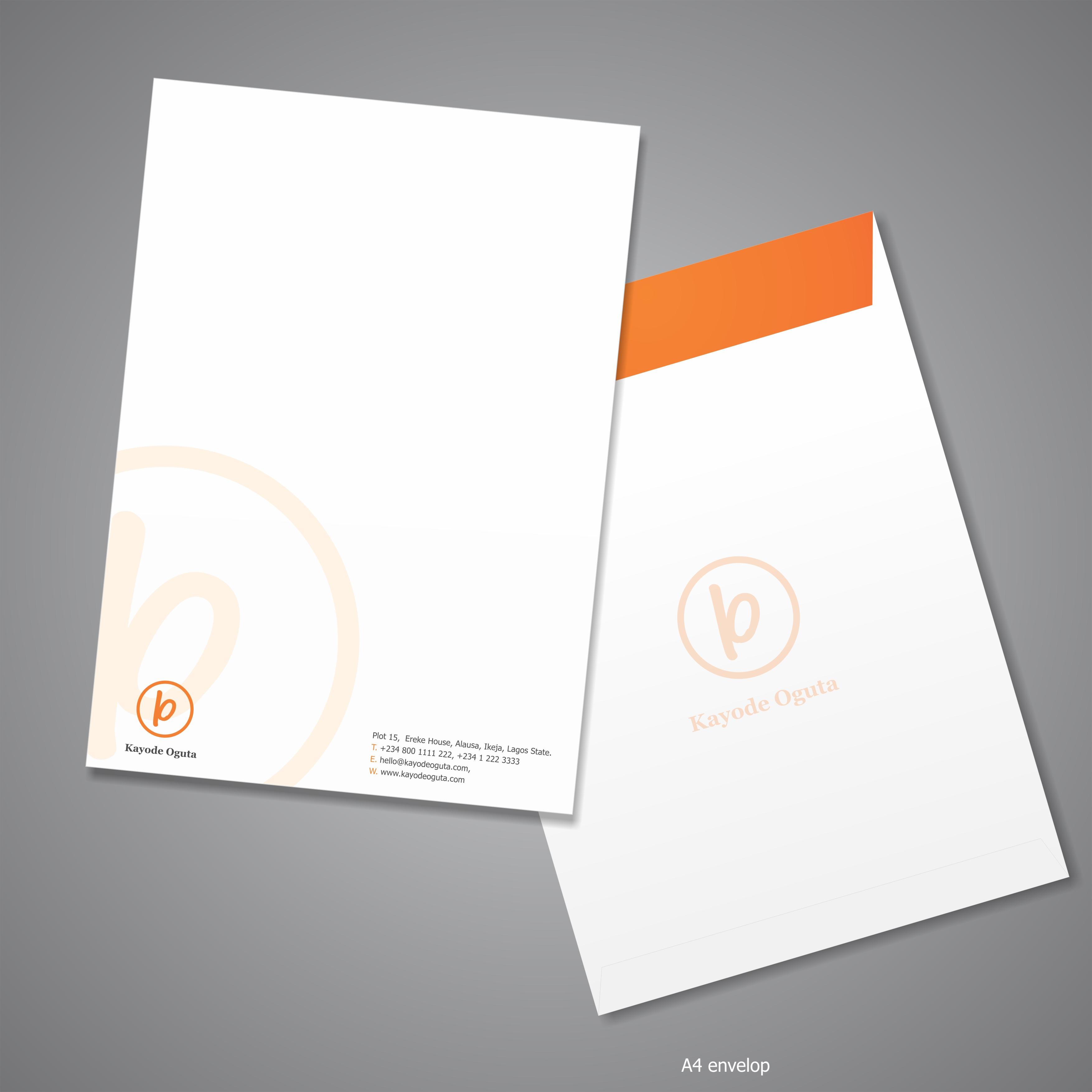 Kayode Oguta A4 envelope – SwiftThink
